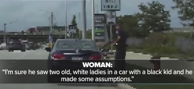Black Teen Riding In Car With White Grandmother Handcuffed