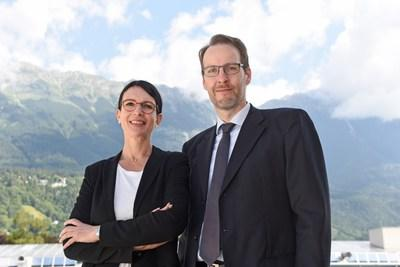 Susanne E. Herzog, Head of the Executive Education Department at MCI, and Markus Kittler, Academic Program Director, further developed the Executive PhD program in a highly professional manner with regard to the COVID requirements. © MCI
