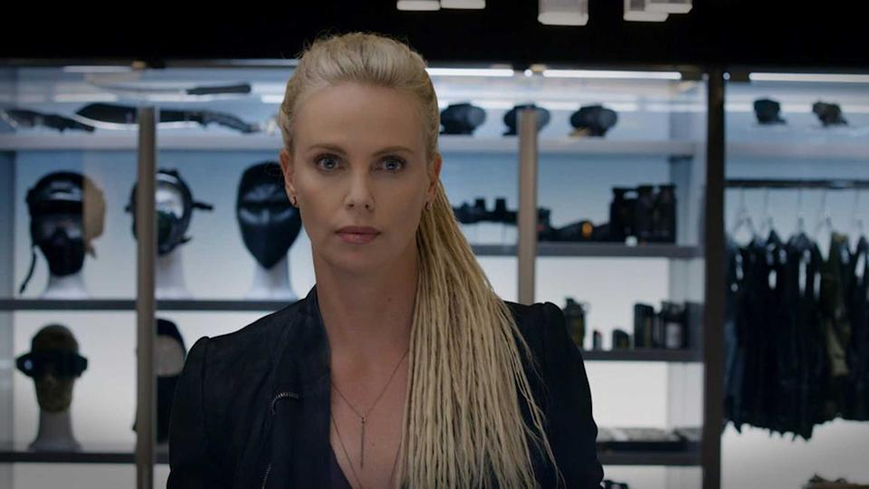 Charlize Theron as Cipher (Credit: Universal)