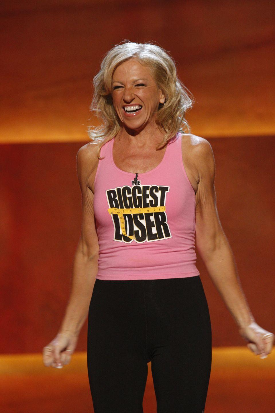 """<p>Helen nabbed <em>The Biggest Loser</em> title in season 7 after she went from 257 pounds to 117. """"It's been a tremendous change,"""" she told <em><a href=""""https://www.goodhousekeeping.com/health/diet-nutrition/a18673/helen-phillips-weight-loss-success/"""" rel=""""nofollow noopener"""" target=""""_blank"""" data-ylk=""""slk:Good Housekeeping"""" class=""""link rapid-noclick-resp"""">Good Housekeeping</a></em> after her win.</p>"""