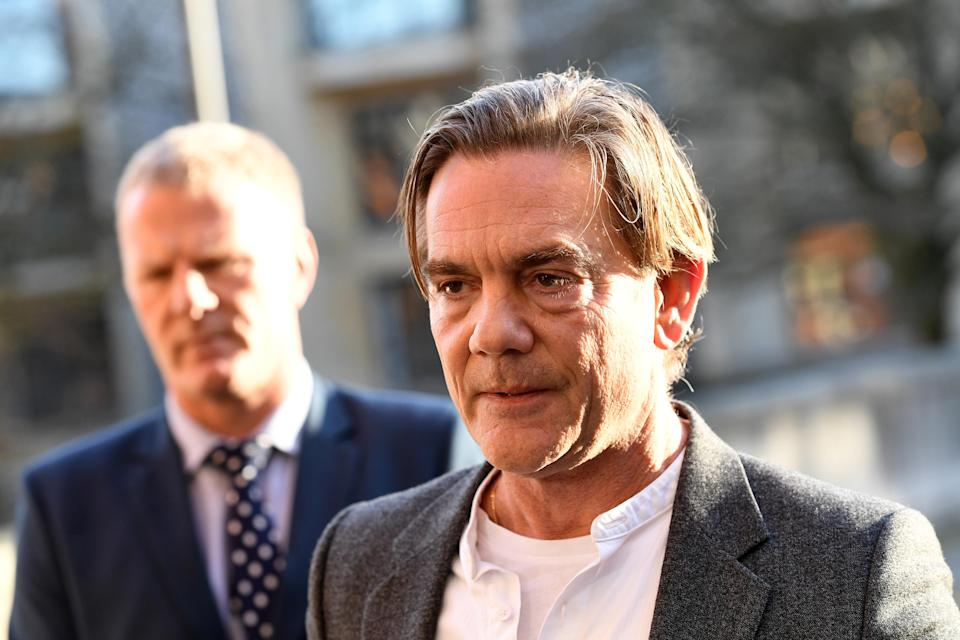 John Michie, parent of Louella Fletcher-Michie, gives a statement at Winchester Crown Court after Ceon Broughton's conviction. (Photo by Finnbarr Webster/Getty Images)