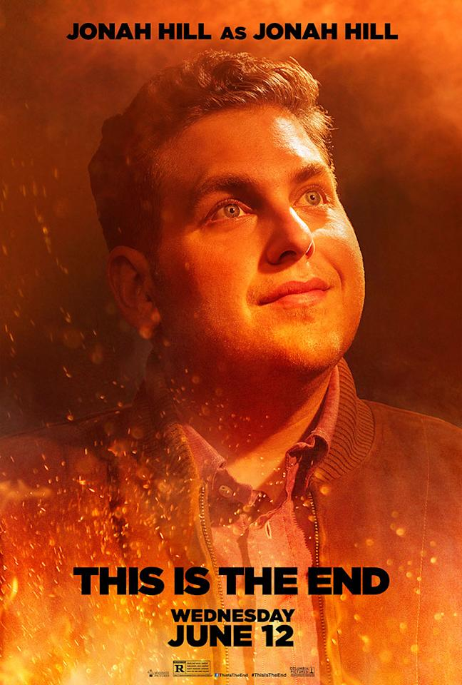"Jonah Hill stars in Columbia Pictures' ""This Is the End"" - 2013"