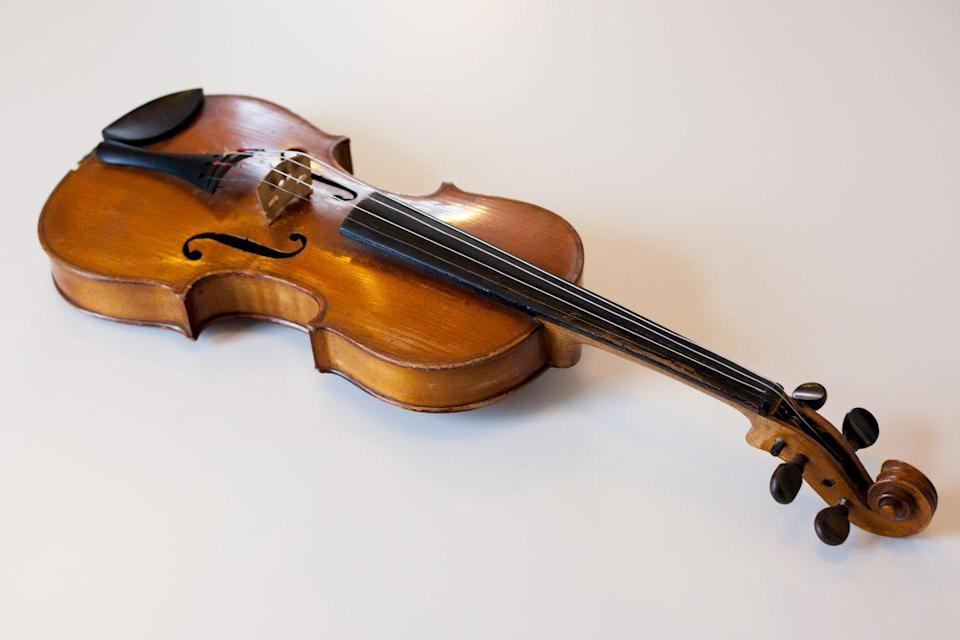 "<p><strong>State Musical Instrument: Fiddle </strong></p><p>The fiddle, or the violin, was named the <a href=""https://sdsos.gov/general-information/about-state-south-dakota/state-seal-symbols.aspx"" rel=""nofollow noopener"" target=""_blank"" data-ylk=""slk:state's musical instrument in 1989."" class=""link rapid-noclick-resp"">state's musical instrument in 1989. </a></p>"