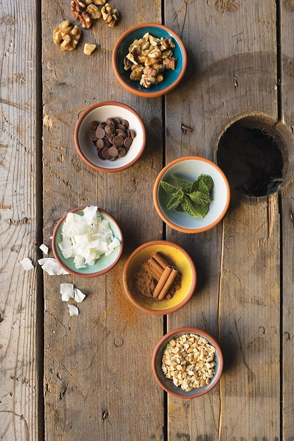 <p>Upgrade their bowls with the <span>Now Designs Terracotta Pinch Set</span> ($18). They look pretty and are super useful.</p>