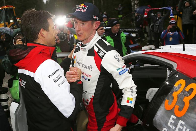 Evans has Toyota permission to fight for WRC title