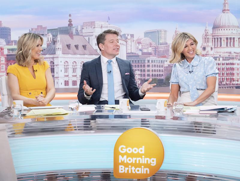 Ben Shephard and Kate Garraway have been filling in for Piers Morgan and Susanna Reid. (ITV)