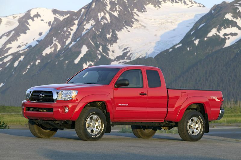 In this photo provided by Toyota, the 2005 Toyota Tacoma Access Cab V6 4x4 is shown. (AP Photo/Toyota)