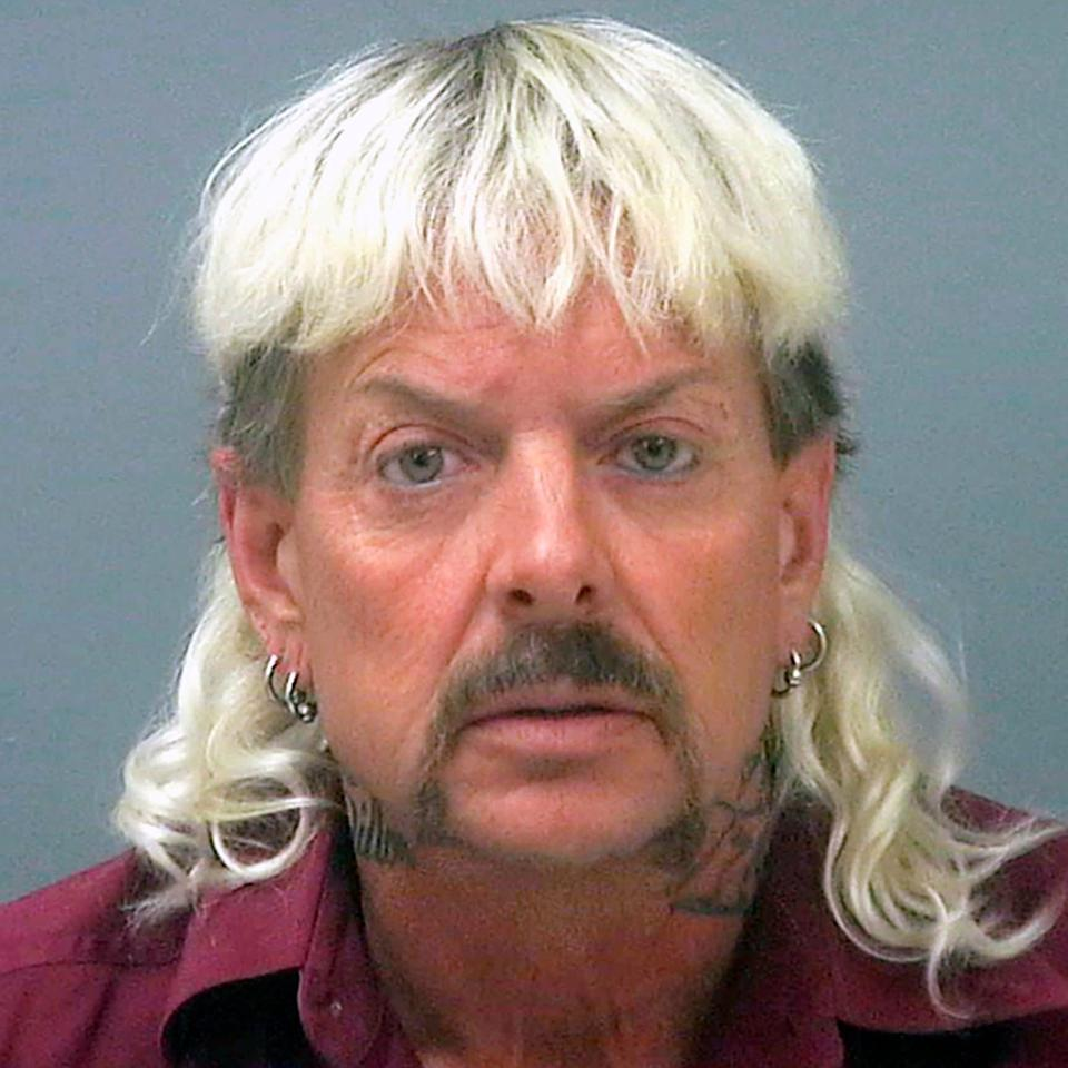 Joe Exotic was convicted in a murder for hire plot against Carole Baskin - AP