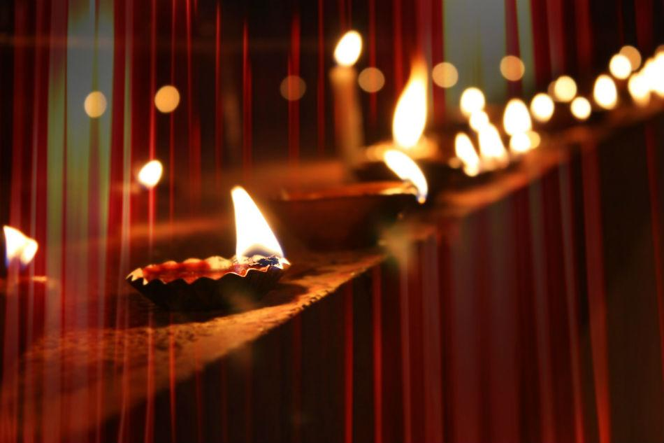 While Deepavali commemorates Lord Rama's homecoming in the North, during this festival Hindus in the South pay homage to Lord Krishna's defeat of the demon Naraka, a powerful king of Assam who controlled all the kingdoms on earth and imprisoned thousands of people. This day was henceforth known as NarakaChaturdashi – the first day of Deepavali and the beginning of four days of festivities in South India