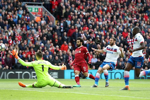 Liverpool 0 Stoke City 0: Mohamed Salah fails to fire after Champions League heroics
