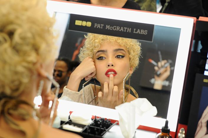 NEW YORK, NY - OCTOBER 12:  Alexis Jae attends the PAT McGRATH LABS Unlimited Edition Launch at Sephora Herald Square on October 12, 2017 in New York City.  (Photo by Craig Barritt/Getty Images for PAT McGRATH LABS )