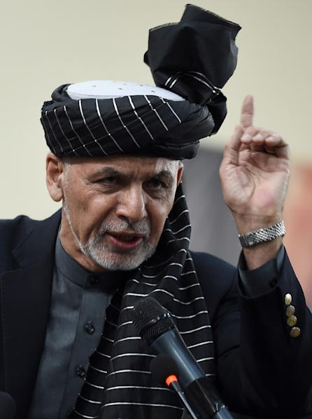 President Ashraf Ghani's administration had on Tuesday announced a list of 250 people from all walks of Afghan life, including government figures, who it wanted to send to Doha (AFP Photo/WAKIL KOHSAR)