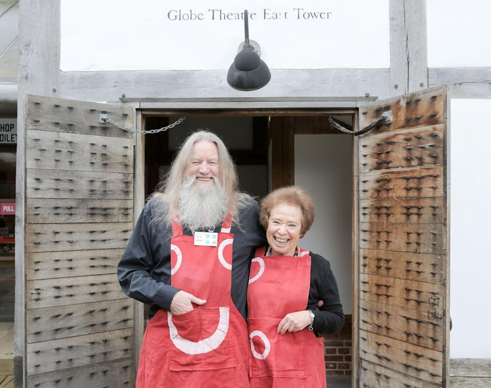 Terry Pope and Cathie Delaney met through stewarding at the GlobeMatt Writtle