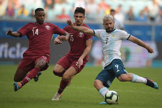 Qatar paid for their naivety in crashing out of the Copa America in the group stage, their Spanish coach Felix Sanchez believes (AFP Photo/Carl DE SOUZA )