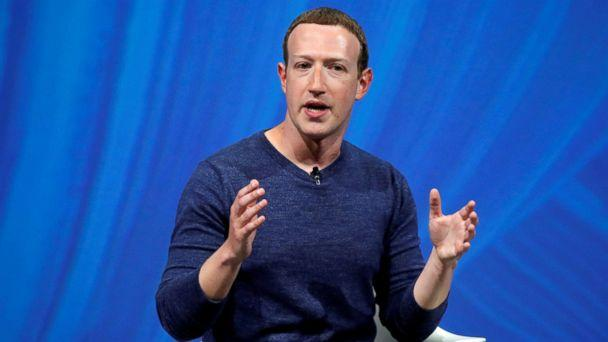 PHOTO:Facebook's founder and CEO Mark Zuckerberg speaks at an event in Paris, May 24, 2018. (Charles Platiau/Reuters, FILE)