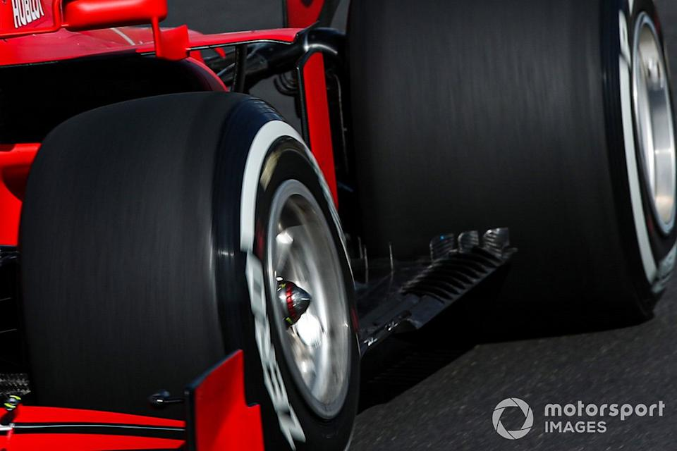 "Ferrari SF1000 floor detail<span class=""copyright"">Charles Coates / Motorsport Images</span>"