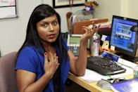 <p>Mindy was the memorable Kelly Kapoor, a customer service rep at Dunder Mifflin who only had eyes for Ryan. While she left the show after its eighth season to launch <em>The Mindy Project</em>, she returned to guest star a couple of times.</p>