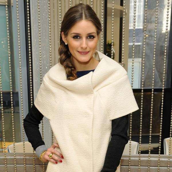 Plaits will be a huge trend in 2013, here <b>Olivia Palermo</b> shows off a relaxed style that adds a funky twist to any outfit ©Rex