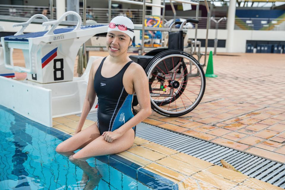 Singapore para-swimmer Yip Pin Xiu, who will be taking part at the Tokyo Paralympics. (PHOTO: Singapore Disability Sports Council)