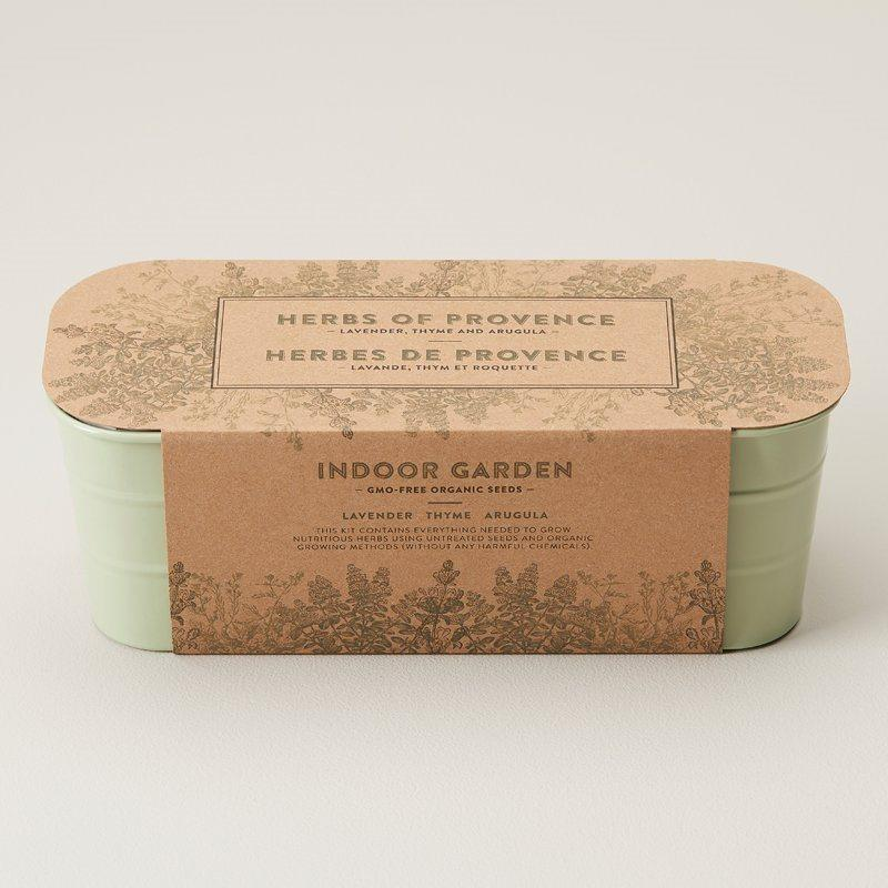 Herbs Of Provence Indoor Garden Kit. Image via Indigo.