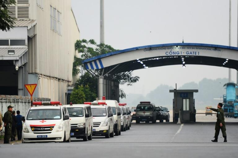 The first remains of the 39 people found dead in a truck in Britain have arrived in Vietnam