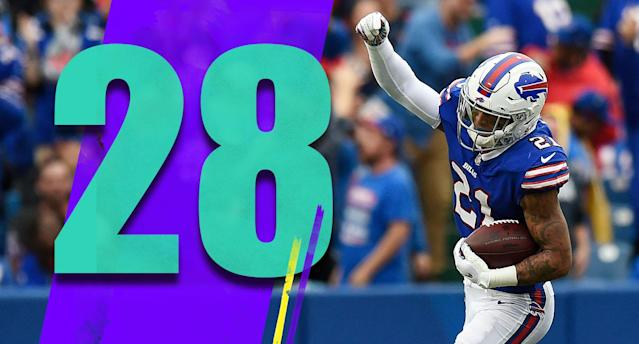 <p>The Bills aren't exciting on offense, but LeSean McCoy is still a great talent. (Jordan Poyer) </p>