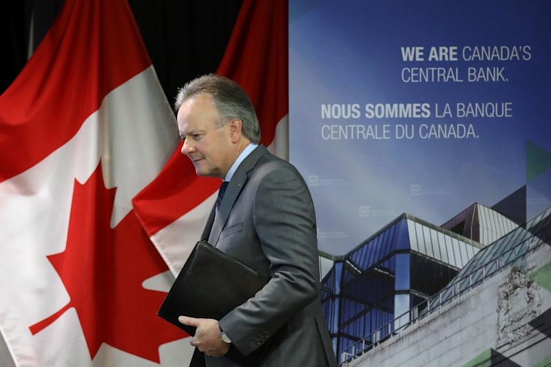 Bank of Canada Governor Stephen Poloz arrives at a news conference upon the release of the Financial System Review in Ottawa, Ontario, Canada, May 16, 2019. REUTERS/Chris Wattie