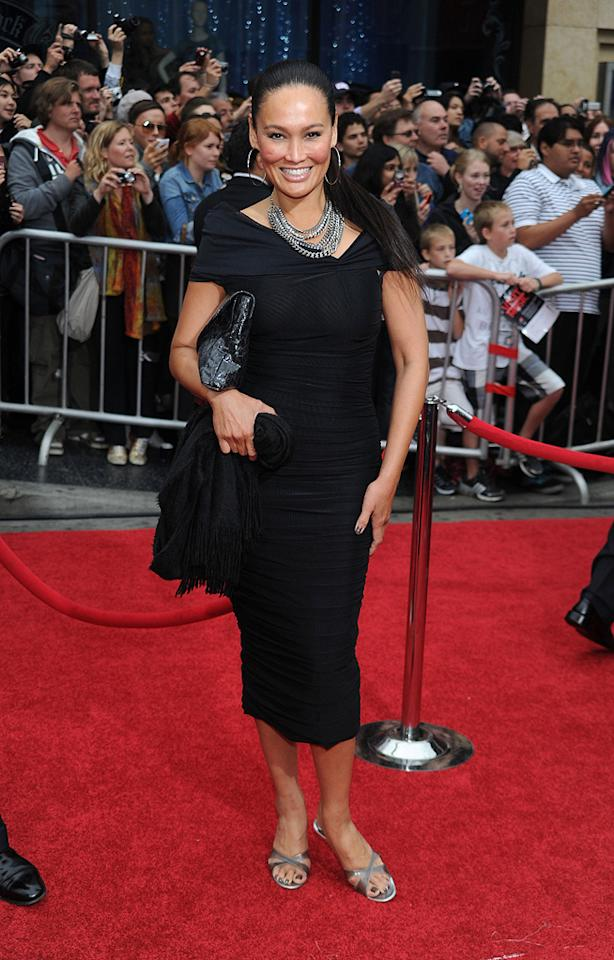 """<a href=""""http://movies.yahoo.com/movie/contributor/1800019767"""">Tia Carrere</a> at the Los Angeles premiere of <a href=""""http://movies.yahoo.com/movie/1810041991/info"""">Prince of Persia: The Sands of Time</a> - 05/17/2010"""