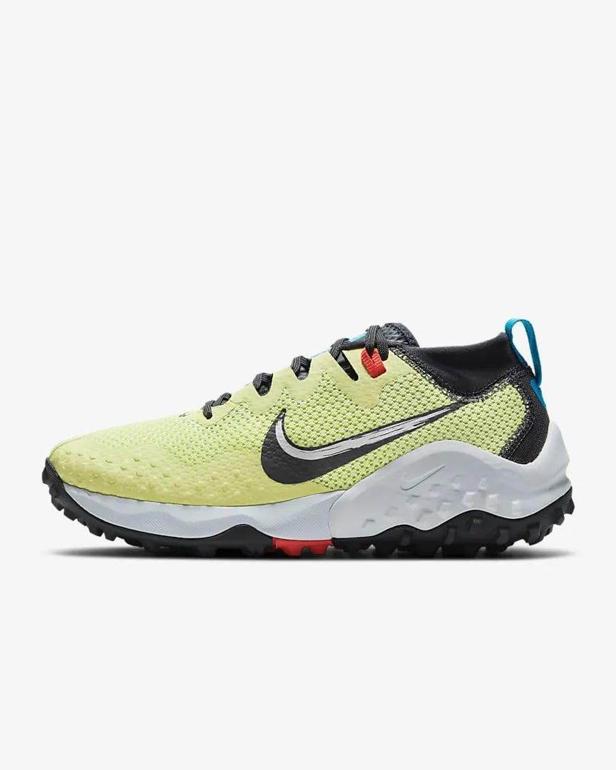 <p>That black piece of fabric on the ankle of the <span>Nike Wildhorse 7</span> ($104, originally $170) is the gaiter collar. It's what protects debris and dirt from coming in, and it also prevents blisters.</p>