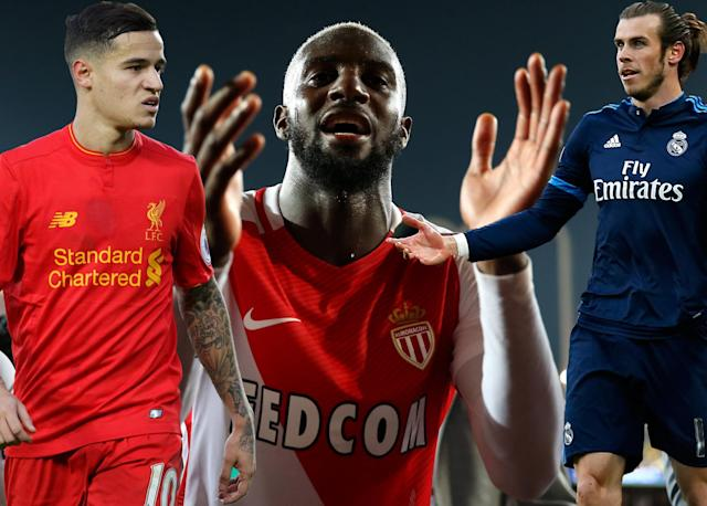 Coutinho, Bakayoko and Bale – all up for grabs?