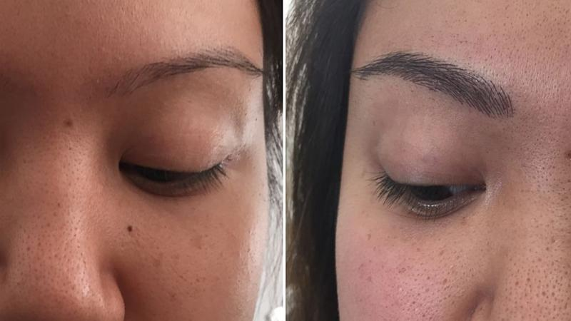 Eyebrow 'Embroidery': Semi-Permanent Ink Gives Brows Fuller Look for Far Longer