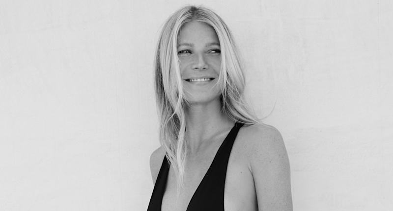 Gwyneth Paltrow. Image via goop.