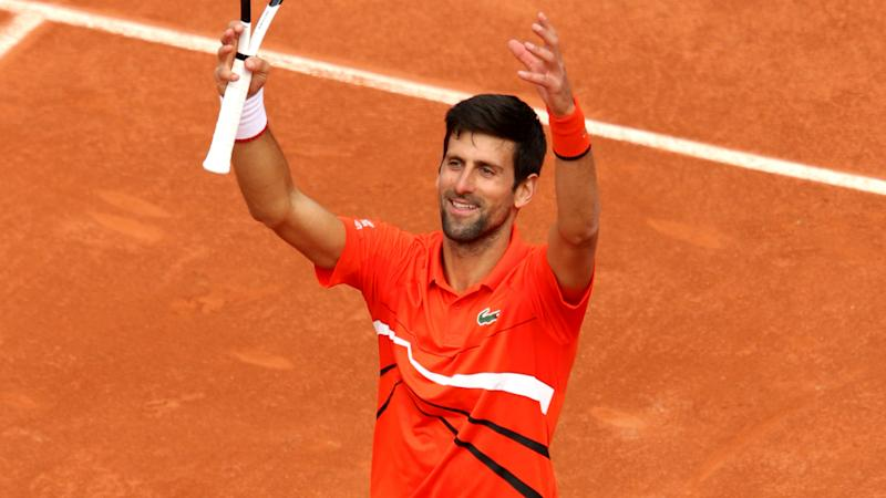 I'm expecting a bill! Djokovic jokes 'huge muscles' caused Roland Garros gym damage