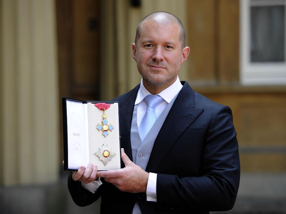 Jony Ive was recognised with a knighthood for his work in design (Rebecca Naden/PA) (PA Archive)