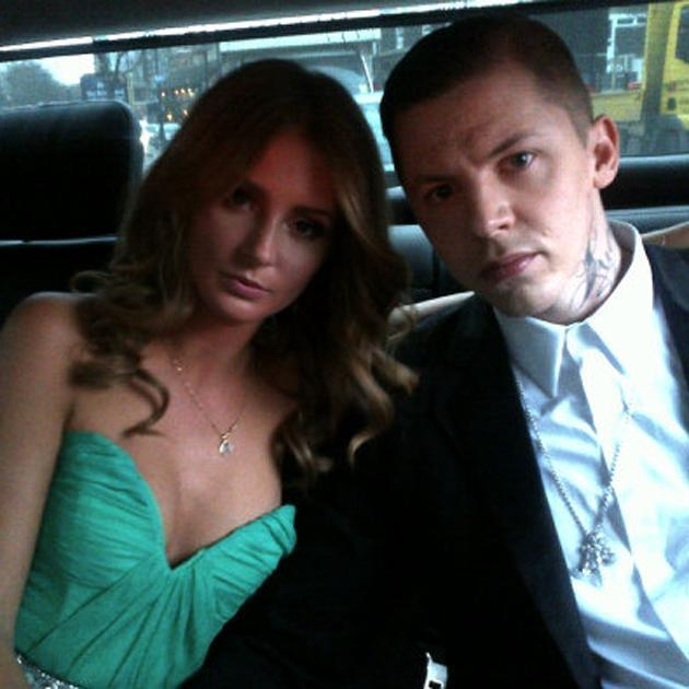 Celebrity couples: Professor Green and Millie Mackintosh headed to the BRITs not looking too happy about it. They could have cracked a smile!