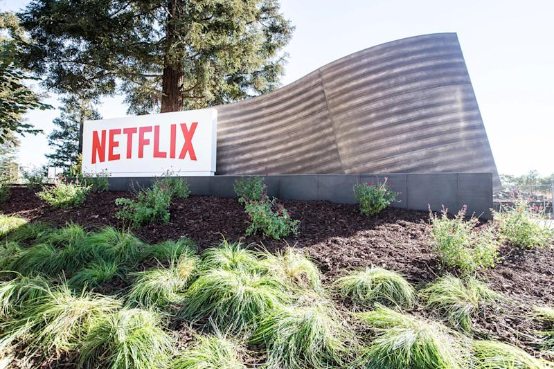 HOLLYWOOD, CA - APRIL 20: In this handout photo provided by Netflix, is a view of Netflix's headquarters located in Los Gatos on April 20, 2020 in Los Gatos, California. (Photo by Netflix via Getty Images)