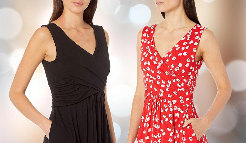 Shoppers love this crossover detail. (Photo: Amazon)