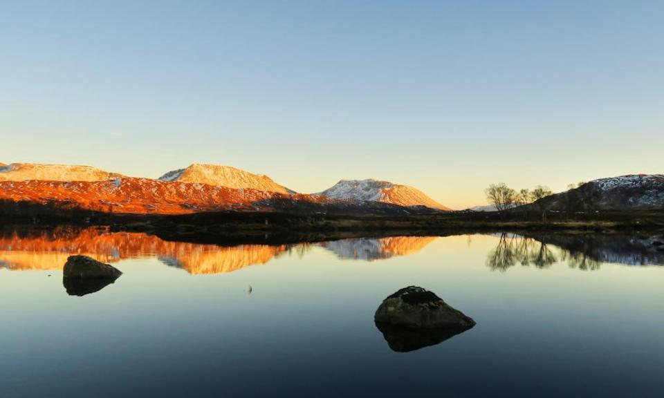'One of the UK's last great wildernesses': Moor of Rannoch.