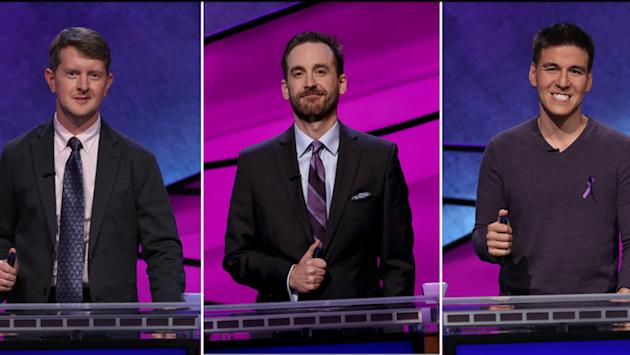 'Jeopardy!' champs James Holzhauer, Ken Jennings, Brad Rutter to face off