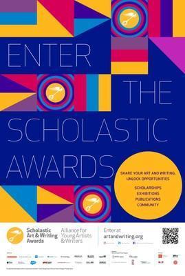 An image of The Alliance for Young Artists & Writers 2022 Scholastic Art & Writing Awards Call to Submissions poster