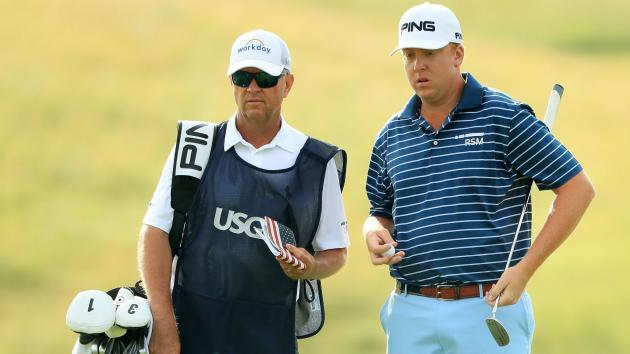 U.S. Open 2017: Davis Love IV shoots 1 under in Round 1 with famous father as caddie