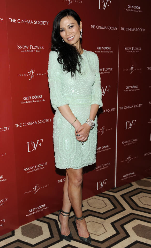Producer Wendi Murdoch attends a special screening of 'Snow Flower and the Secret Fan' hosted by the Cinema Society at the Tribeca Grand Hotel on Wednesday, July 13, 2011 in New York. (AP Photo/Evan Agostini)