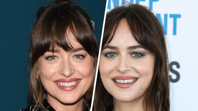 Das Lächeln von Schauspielerin Dakota Johnson hat sich sichtlich verändert (Bild: [M] ImageCollect/Billy Bennight/AdMedia/Xavier Collin/Image Press Agency)