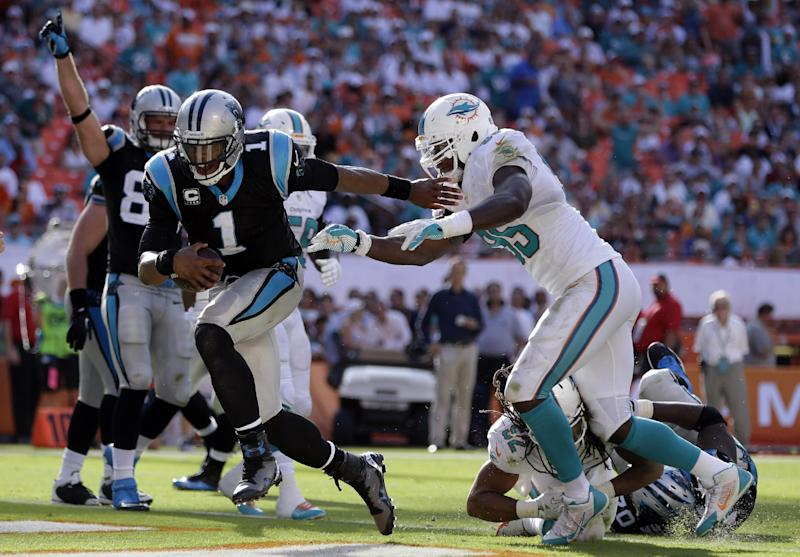 5 things to know from Panthers' win over Dolphins