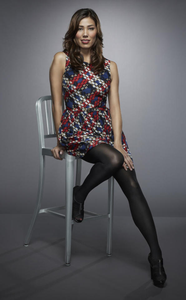 "Michaela Conlin returns as Angela Montenegro in Season 8 of ""Bones."""