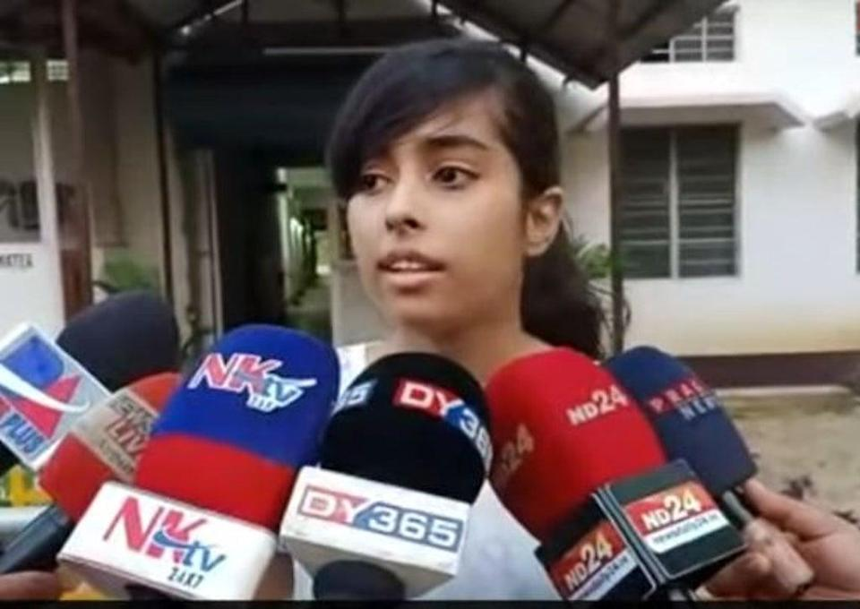 Jublee Tamuli from Assam speaks to the media about her experience on Thursday  (Screengrab/YouTube)