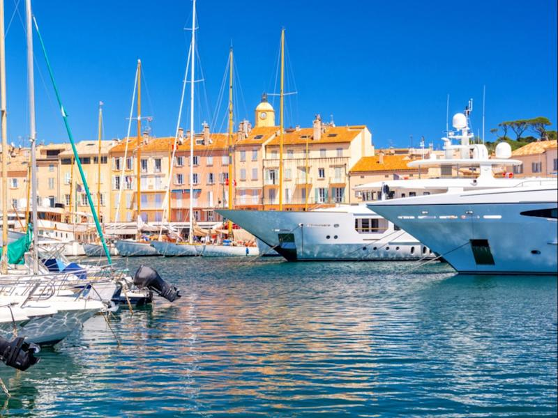 Yachts in the marina, Saint Tropez. The world's richest 1 per cent are responsible for more than double the carbon emissions of the world's 3 billion poorest (Getty Images/iStockphoto)