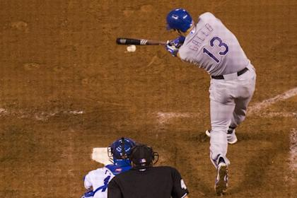 Joey Gallo homered in his first two games in the big leagues. (Getty Images)