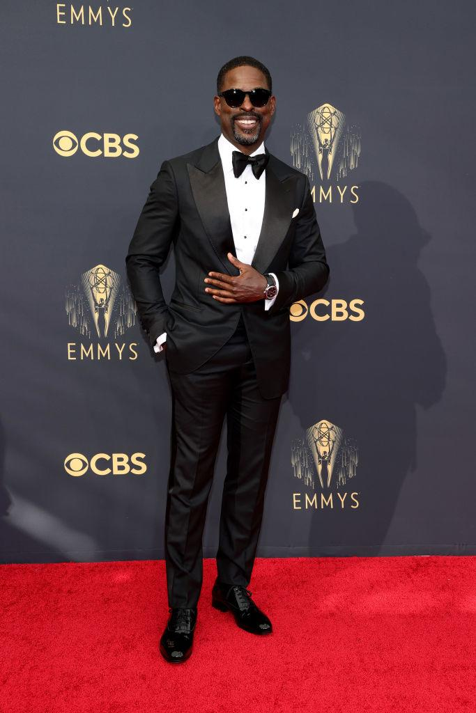 Sterling K. Brown attends the 73rd Primetime Emmy Awards on Sept. 19 at L.A. LIVE in Los Angeles. (Photo: Rich Fury/Getty Images)
