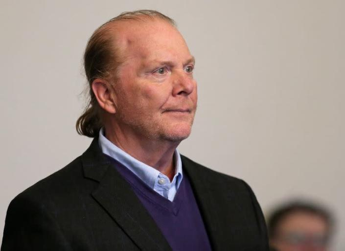 FILE PHOTO: Celebrity chef Mario Batali, 58, is arraigned on a charge of indecent assault and battery at Boston Municpal Court in Boston